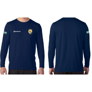 Adult Performance Long Sleeve Tech Shirt (Rhinos)