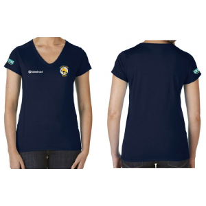 Womens Performance Short Sleeve Tech Shirt (Rhinos)
