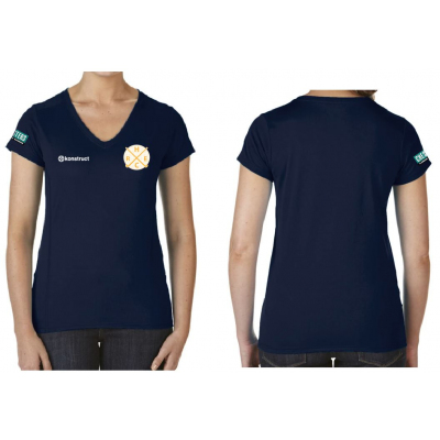 Womens Performance Short Sleeve Tech Shirt (REHC)
